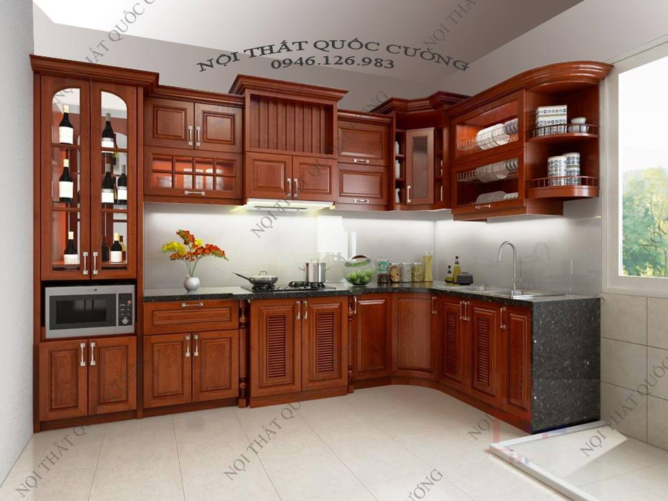 Image result for tủ bếp