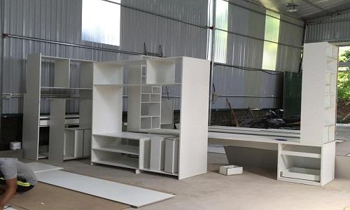 Hình Ảnh Xưởng Sản Xuất Tủ Bếp tại hà nội
