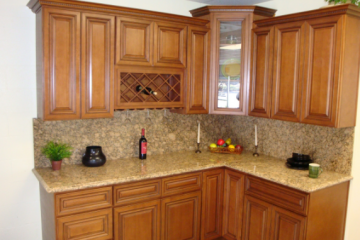 Giải pháp tủ bếp mở cho không gian nhỏ hẹp
