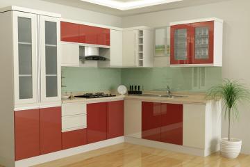 Nên dùng Tủ bếp Nhựa hay Tủ bếp Gỗ ?