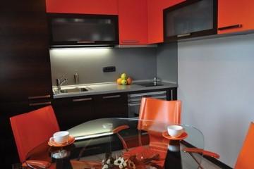 Tủ bếp Acrylic với những thiết kế độc và đẹp