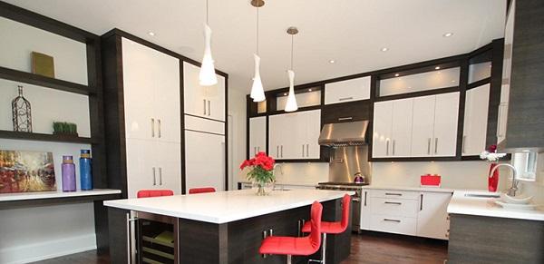 Ưu điểm của tủ bếp Acrylic