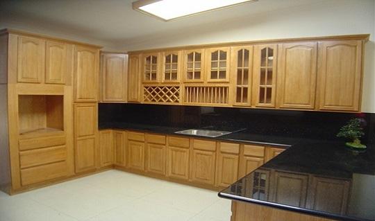 4 lí do chọn tủ bếp gỗ Sồi Nga Quốc Cường?
