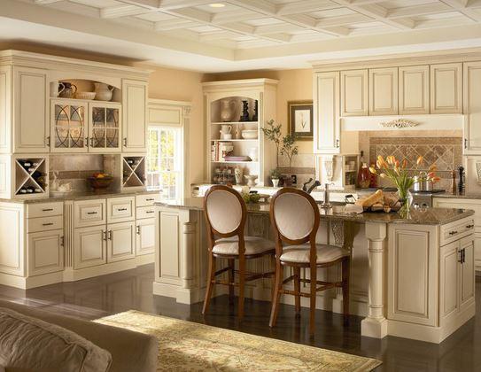 5 Mẫu tủ bếp cổ điển đẹp đến chết người
