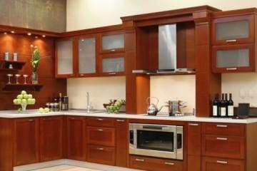 Tủ bếp gỗ căm xe có những đặc điểm gì?