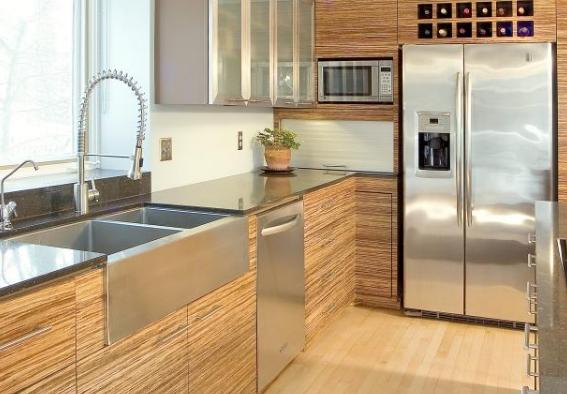 Phát hiện 4 ưu điểm của tủ bếp gỗ