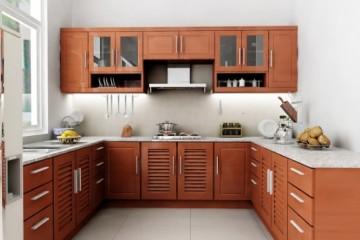 Một số loại tủ bếp gỗ có độ an toàn đặc biệt