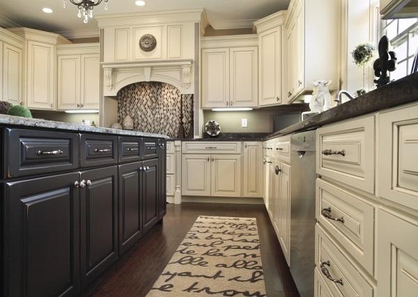Tủ bếp Xoan Đào sự lựa chọn cho đại gia đình với diện tích phòng lớn.