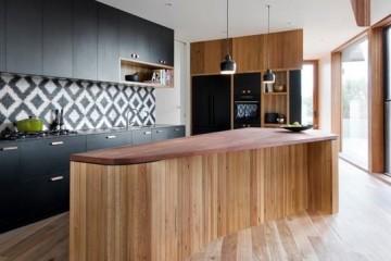 Tủ bếp laminate hình chữ I liệu có thiết thực với phòng bếp nhỏ?