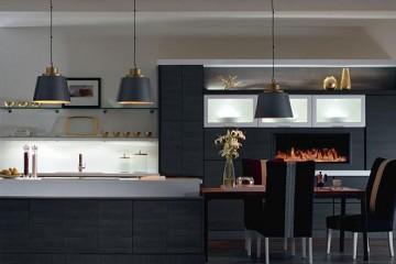 Tủ bếp gỗ Xoan Đào và tủ bếp gỗ Lamimate.