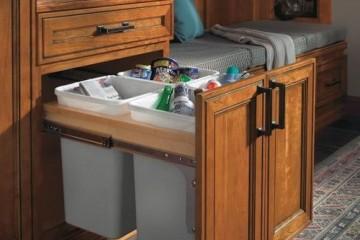 Diện tích phòng bếp nhỏ có nên chọn tủ bếp gỗ Xoan Đào?