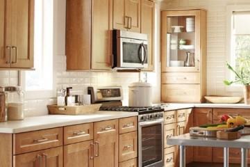 Những điều cần biết về tủ bếp gỗ Xoan Đào cho gia đình 4 người.