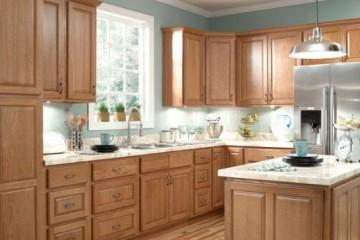 Phong cách cổ điển với tủ bếp gỗ Xoan Đào
