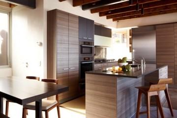 Vì sao nên chọn tủ bếp gỗ Laminate