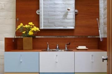 Chọn tủ bếp Laminate cho nhà ống