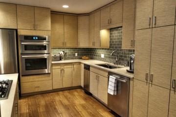 Những thiết kế tủ bếp laminate cho bếp nhỏ