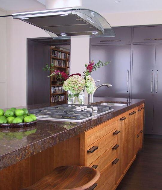 Đặc điểm của tủ bếp gỗ Sồi Nga phong cách tân cổ điển