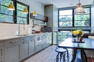 Vẻ đẹp trường tồn theo thời gian của tủ bếp tân cổ điển