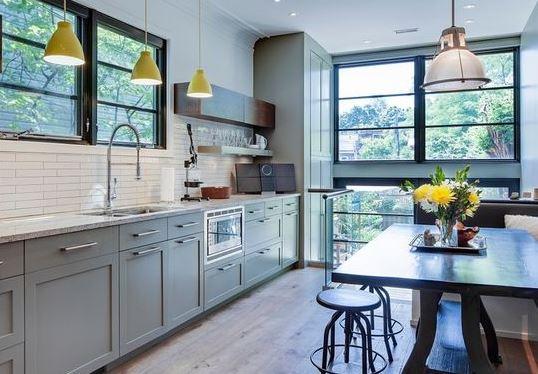 Không gian phù hợp cho tủ bếp tân cổ điển