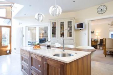 Những không gian phù hợp với tủ bếp tân cổ điển