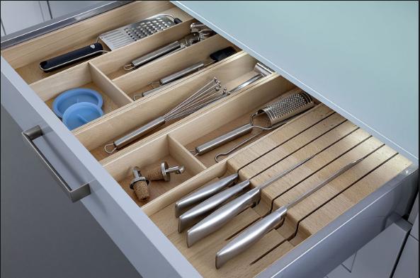 Nên lựa chọn phụ kiện tủ bếp loại nào tốt?