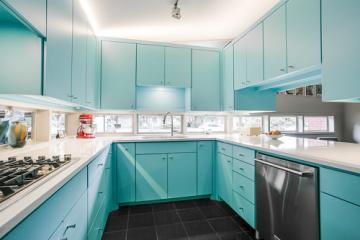 10 mẫu tủ bếp nhựa Picomat đẹp được ưa chuộng nhất