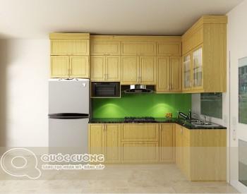 Tủ bếp gỗ Sồi Nga Inox 304 QC16 là mẫu tủ bếp gỗ tự nhiên thân thiện với môi trường và có kết cấu chắc chắn đảm bảo độ bền cao cho tủ bếp, đồng thời sản phẩm còn được gia cường thêm khung inox 304 sáng bóng, chống rỉ sét và dễ lau chùi khi sử dụng.