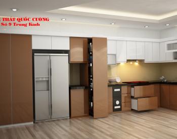 Tủ bếp AR 41 có độ bền cao và chịu nước tốt vì sử dụng thùng Inox304, mangđến phong cách hiệnđại trẻ trung cho căn bếp.