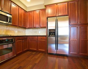 Tủ bếp gỗ Sồi Nga Quốc Cường đẹp nhất tu-bep-go-soi-nga-l-SV08-350x275