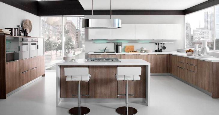 Tủ bếp gỗ Laminate Quốc Cường đẹp nhất tu-bep-laminate-1