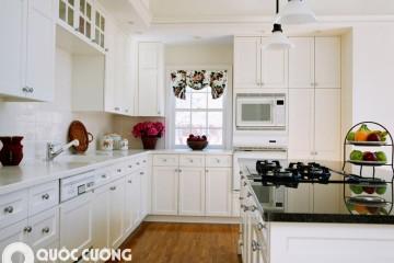 Tủ bếp gỗ công nghiệp có tốt không ?
