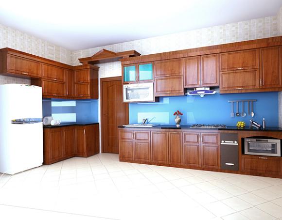 Giá tủ bếp khung inox 201 là 5.200.000 vnđ/ mét dài