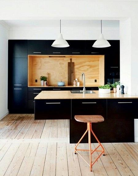 tủ bếp laminate 2017