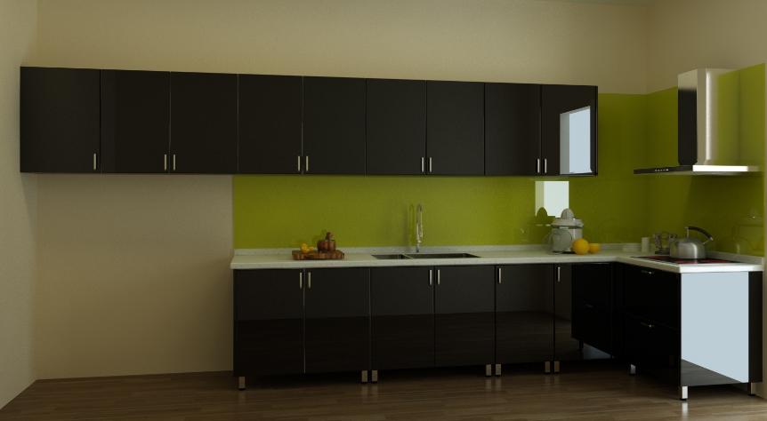 Nên chọn Tủ bếp gỗ Xoan Đào hay Tủ bếp Acrylic. tu-bep-xoan-dao-acrylic-3