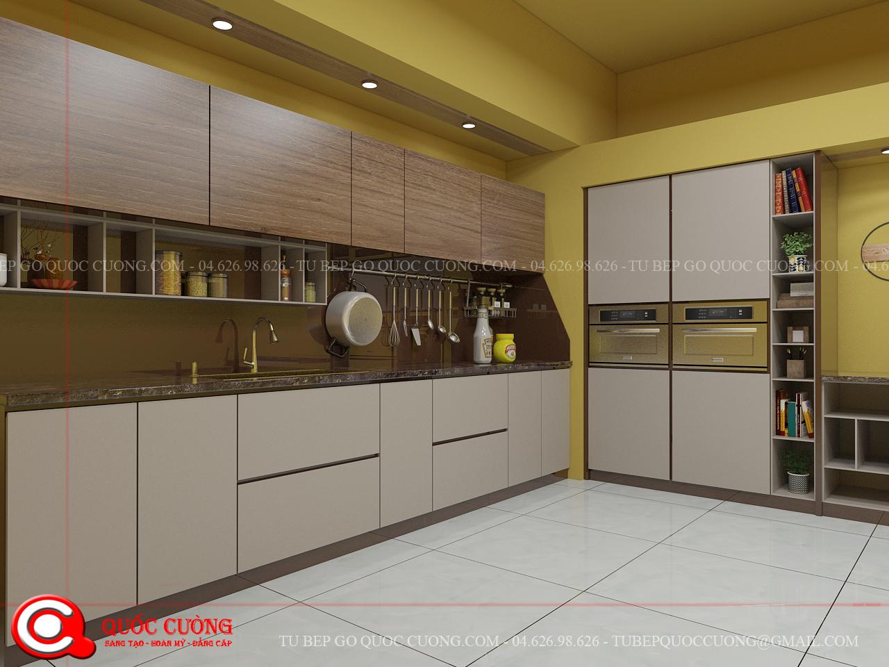 Tủ bếp Acrylic AR 05