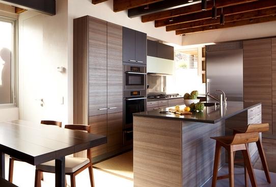 mẫu tủ bếp Lamiante
