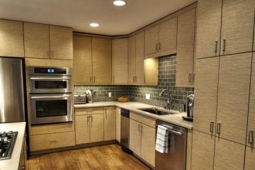 Tủ bếp Laminate cho nhà phố