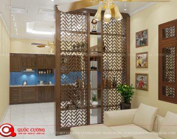 Tủ bếp gỗ óc chó OC10 là mẫu tủ bếp gỗ tự nhiên cao cấp nhập khẩu có độ cứng, độ bền cao và khả năng chịu lực rất tốt.