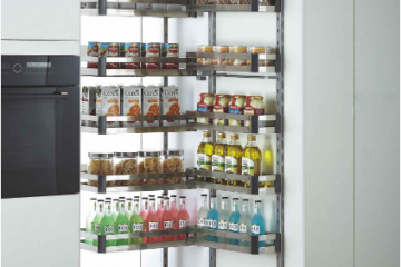 Lựa chọn phụ kiện tủ bếp Cariny cho căn bếp thêm tiện nghi