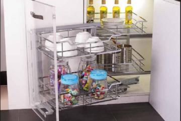 Tư vấn sử dụng phụ kiện tủ bếp Edell