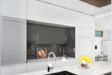 Gợi ý lựa chọn mẫu tủ bếp Acylic đẹp cho căn bếp thêm hoàn hảo