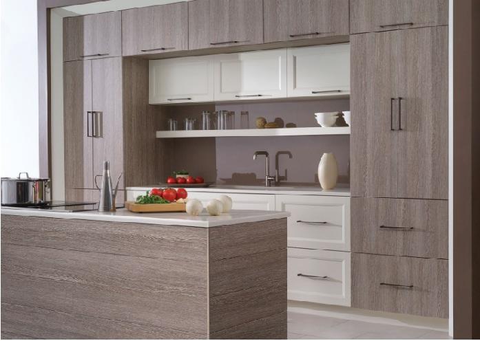 8 mẫu tủ bếp đẹp laminate hút hồn các chị em