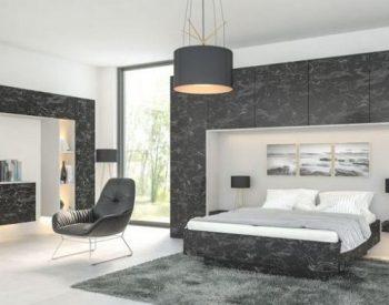 Giường ngủ gỗ Melamine An Cường-MFC-GN-01