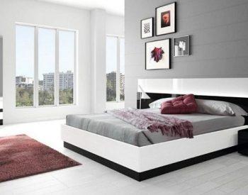 Giường ngủ gỗ Melamine An Cường-MFC-GN-02