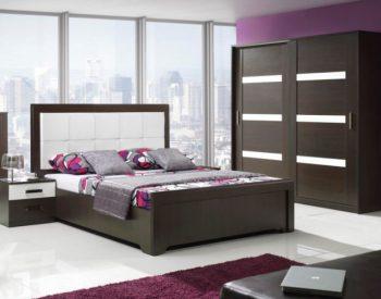 Giường ngủ gỗ Melamine An Cường-MFC-GN-04
