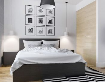 Giường ngủ gỗ Melamine An Cường-MFC-GN-06