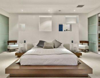 Giường ngủ gỗ Melamine An Cường-MFC-GN-07