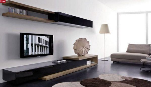 Kệ Tivi Phòng Khách gỗ MFC- Melamine An Cường-KTV-01