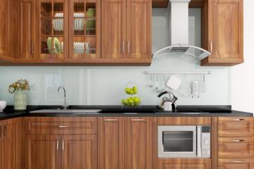 Chiêm ngưỡng 10 mẫu tủ bếp gỗ Lát đẹp vào cao cấp