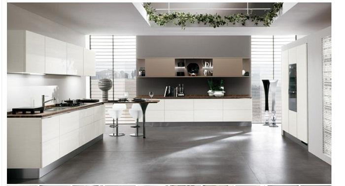 Tủ bếp gỗ Melamine bền đẹp chất lượng cao